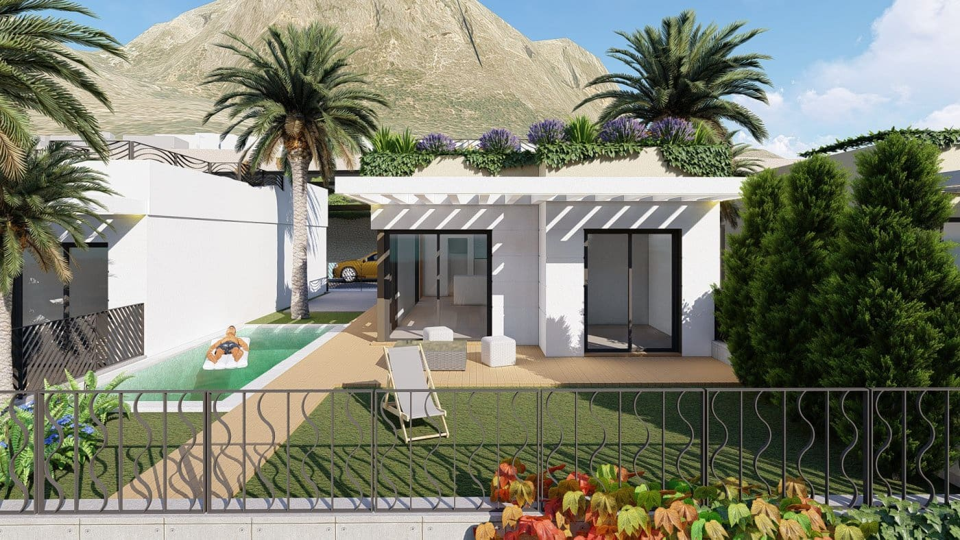 Chalet de 2 habitaciones en Polop en venta con piscina - 194.000 € (Ref: 4759780)