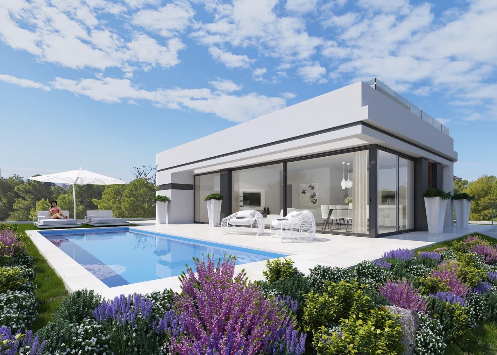 Chalet de 4 habitaciones en Polop en venta con piscina - 385.000 € (Ref: 4766439)