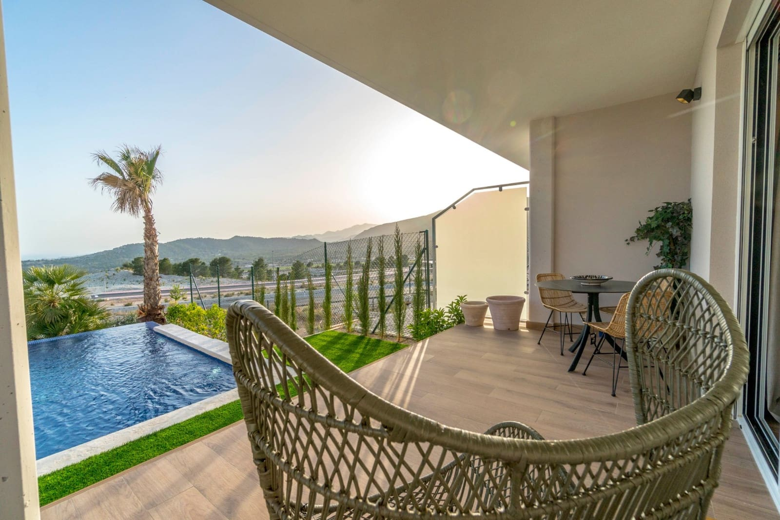 2 bedroom Townhouse for sale in Finestrat with pool - € 345,600 (Ref: 4913591)