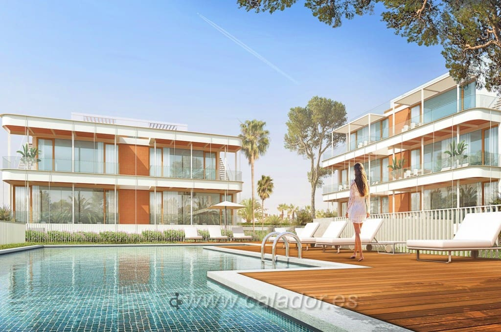 2 bedroom Apartment for sale in Cala d'Or with pool - € 298,320 (Ref: 4962630)