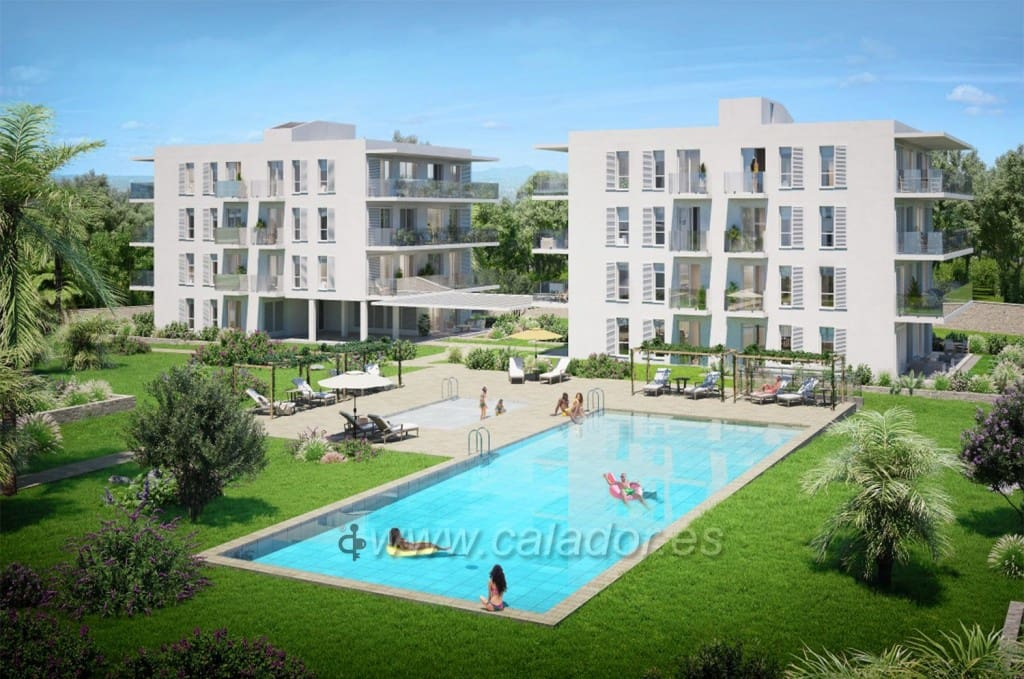 2 bedroom Apartment for sale in Cala d'Or with pool garage - € 256,000 (Ref: 5138565)