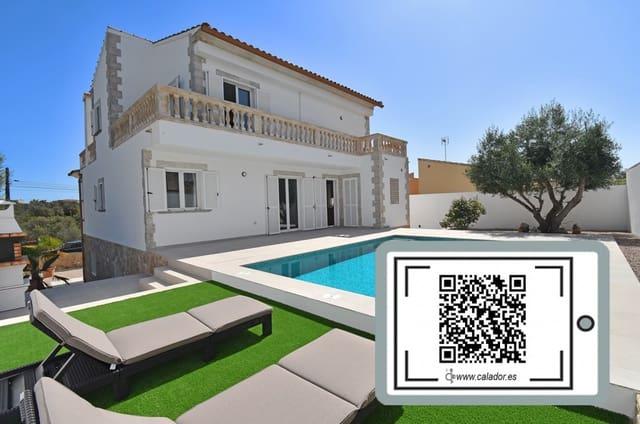 4 bedroom Villa for sale in Portocolom with pool garage - € 840,000 (Ref: 6240847)