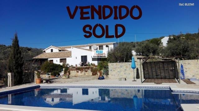 6 chambre Finca/Maison de Campagne à vendre à Algarinejo avec piscine - 350 000 € (Ref: 3632426)