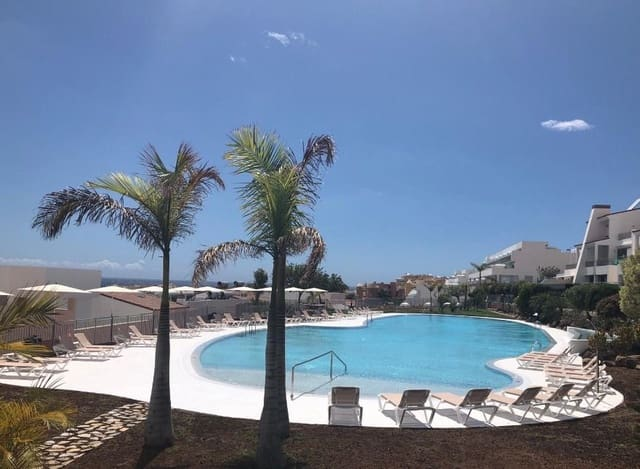 2 Zimmer Ferienapartment in Playa de la Caleta mit Pool Garage - 950 € (Ref: 5166882)