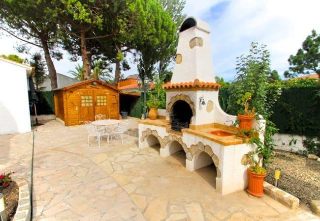 3 camera da letto Villa da affitare come casa vacanza in Miami Playa / Miami Platja con piscina - 1.000 € (Rif: 6039376)