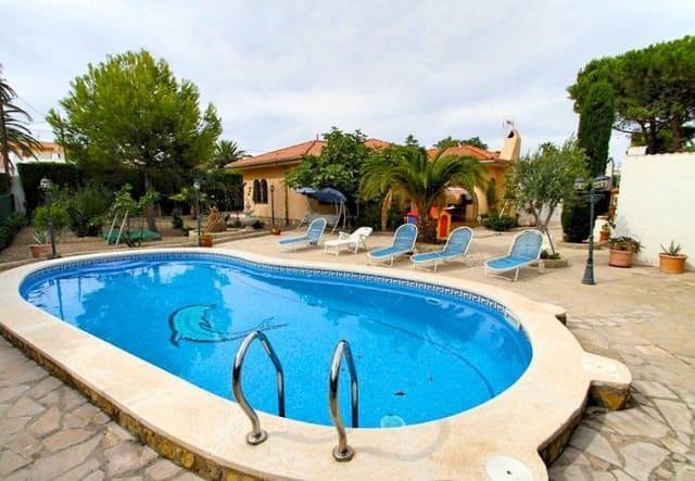 Chalet de 3 habitaciones en Miami Playa / Miami Platja en alquiler vacacional con piscina - 1.000 € (Ref: 6039376)