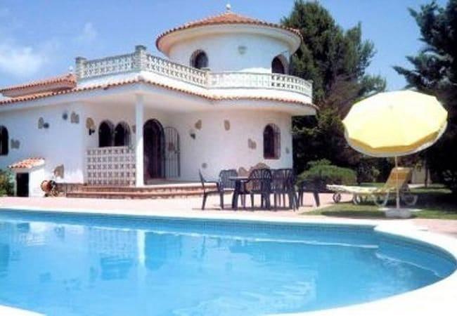 4 camera da letto Villa da affitare come casa vacanza in Miami Playa / Miami Platja con piscina - 136 € (Rif: 6039378)