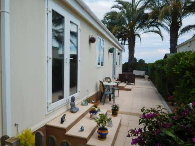 2 sypialnia Domek mobilny na sprzedaż w Albatera z basenem - 69 995 € (Ref: 4562757)