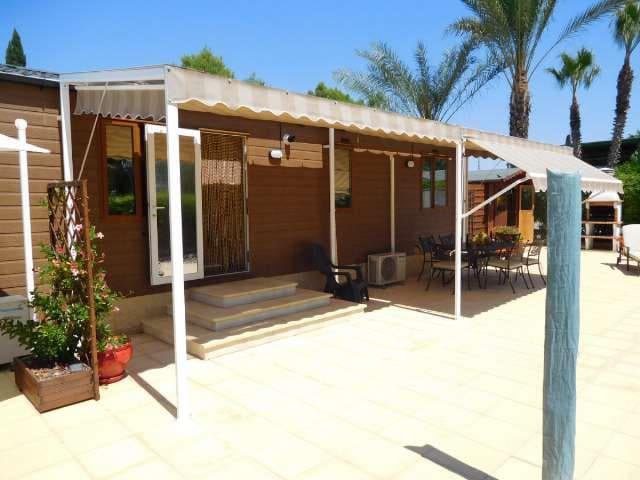 2 sypialnia Domek mobilny na sprzedaż w Albatera z basenem - 84 000 € (Ref: 4739233)