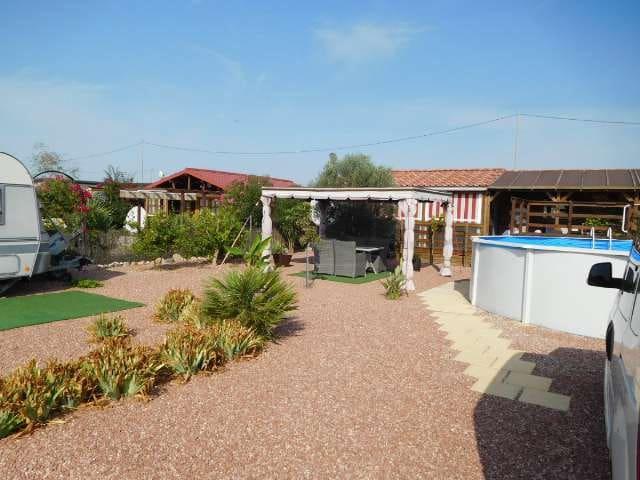 2 sovrum Trähus till salu i El Realengo med pool - 57 880 € (Ref: 5592068)