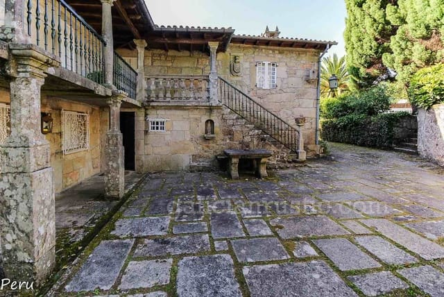 8 sypialnia Finka/Dom wiejski na sprzedaż w Caldas de Reis - 750 000 € (Ref: 4650017)