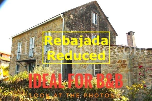 3 camera da letto Finca/Casa di Campagna in vendita in Pontedeume - 190.000 € (Rif: 4668218)