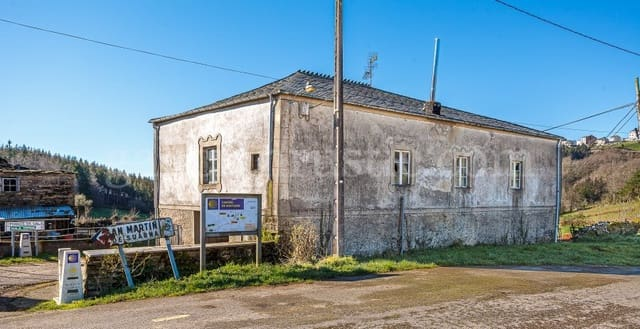 Finka/Dom wiejski na sprzedaż w A Fonsagrada - 60 000 € (Ref: 6053263)