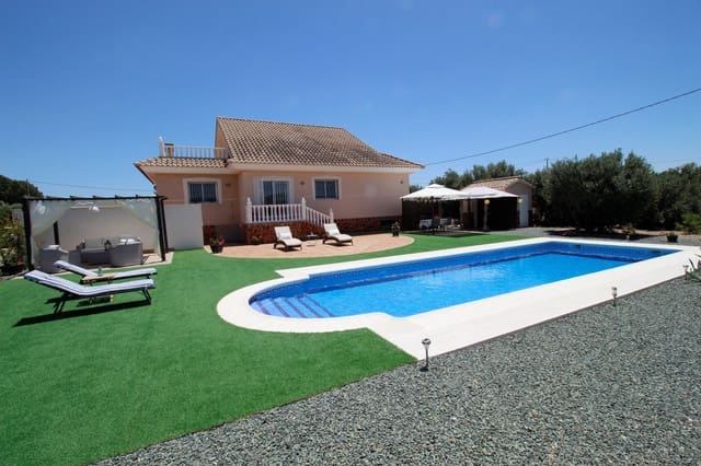 4 bedroom Villa for sale in Puerto Lumbreras with pool garage - € 320,000 (Ref: 4649897)