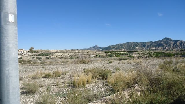 Undeveloped Land for sale in Abanilla - € 55,995 (Ref: 6090058)