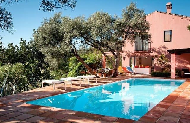 3 makuuhuone Maalaistalo myytävänä paikassa Gaucin mukana uima-altaan - 795 000 € (Ref: 5477419)