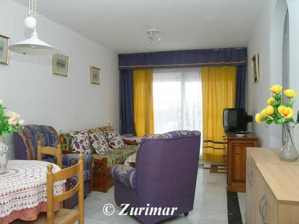 Apartamento de 1 habitación en Roquetas de Mar en alquiler vacacional con piscina - 175 € (Ref: 4207893)