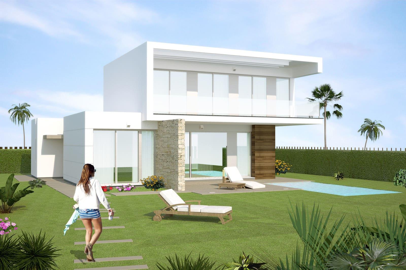 Chalet de 4 habitaciones en Orihuela en venta con piscina - 379.900 € (Ref: 4330641)
