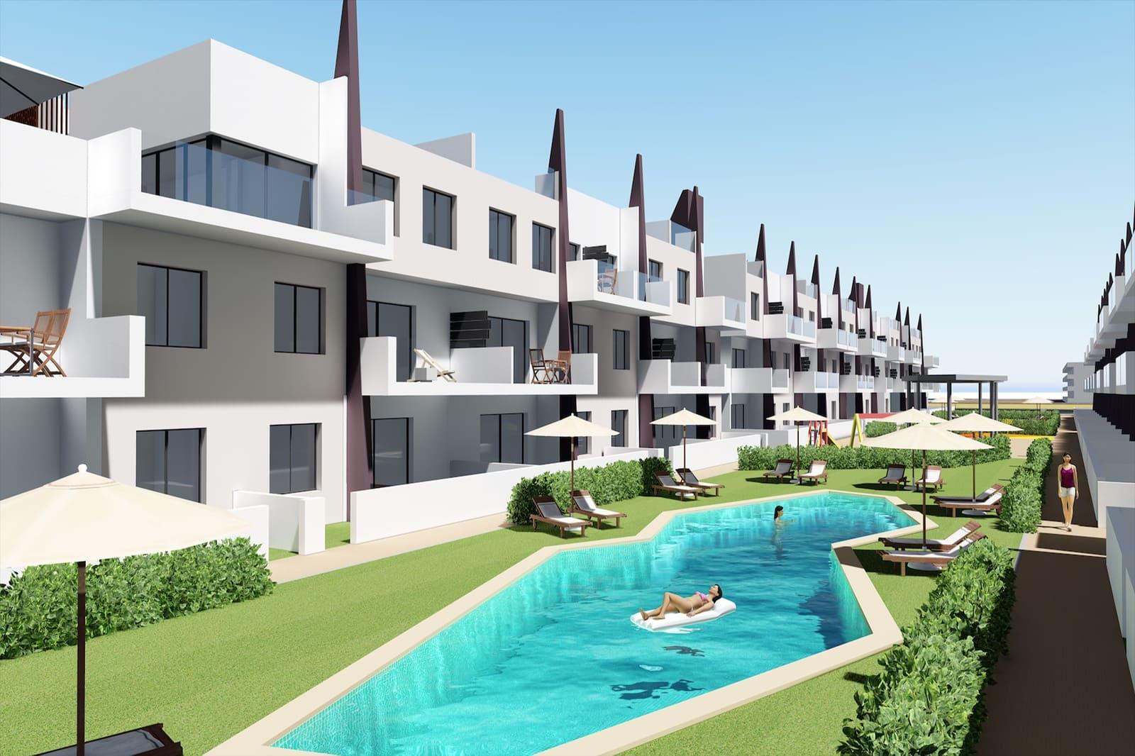 Apartamento de 3 habitaciones en Pilar de la Horadada en venta con piscina - 249.900 € (Ref: 4448370)
