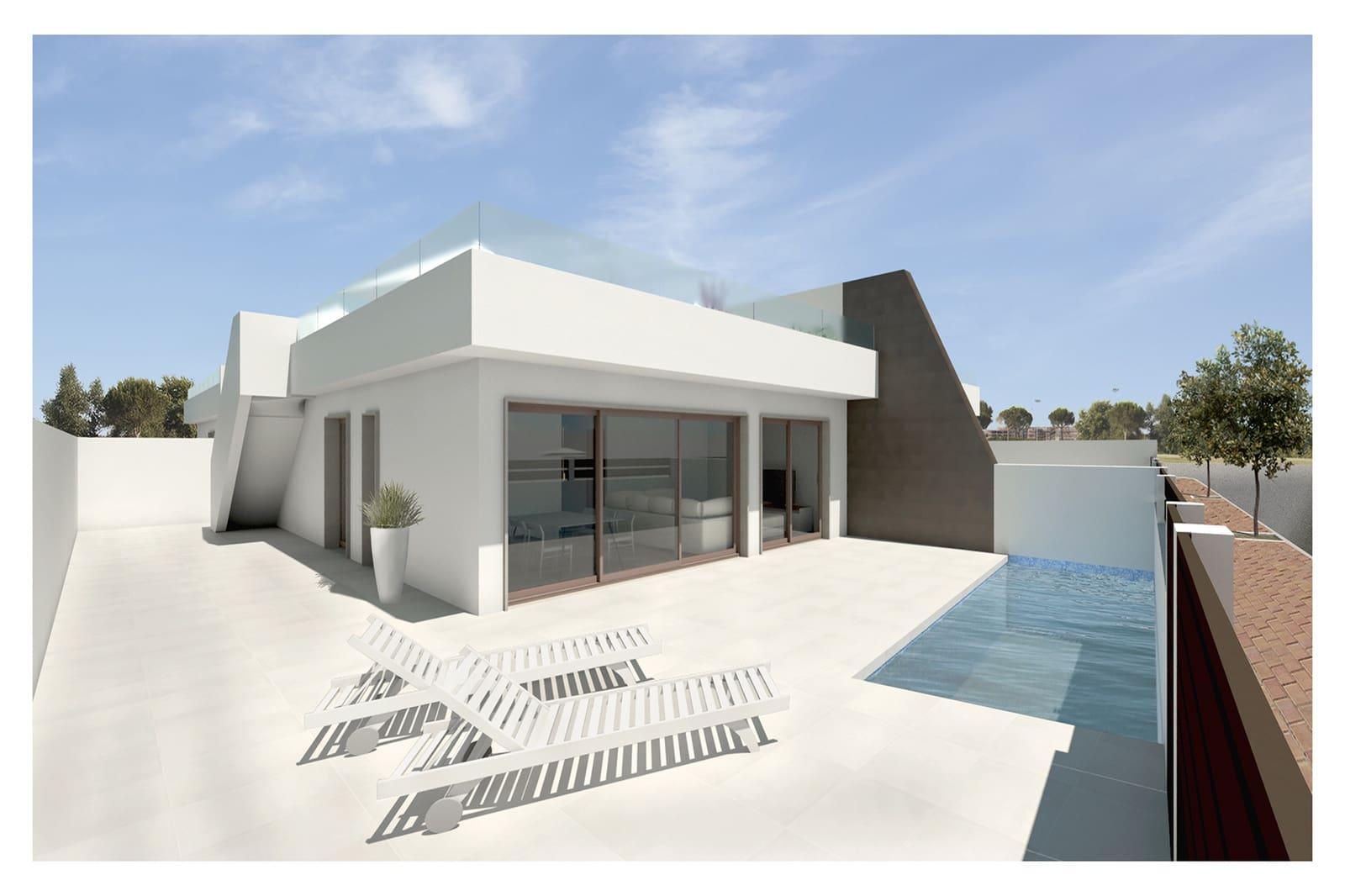 Pareado de 3 habitaciones en Pilar de la Horadada en venta con piscina - 284.900 € (Ref: 4485806)