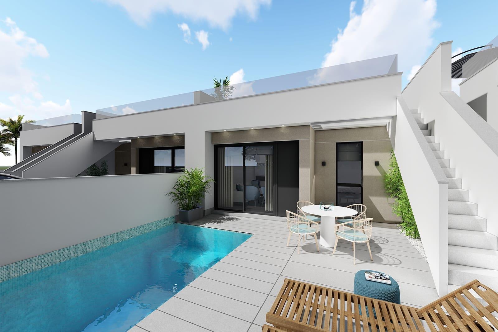 Bungalow de 3 habitaciones en Pilar de la Horadada en venta con piscina - 236.900 € (Ref: 4698145)