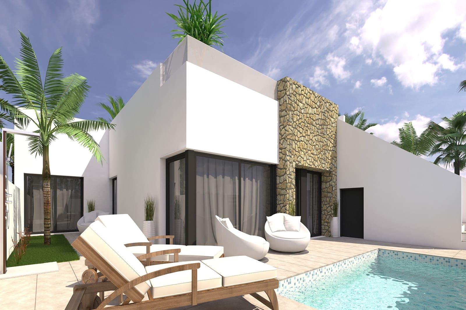 Pareado de 3 habitaciones en Pilar de la Horadada en venta con piscina - 239.900 € (Ref: 5003617)