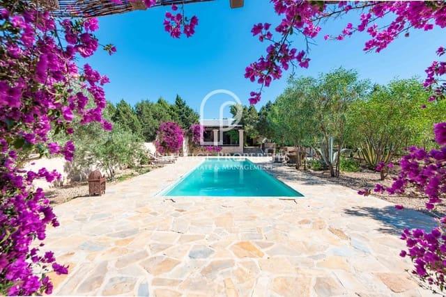 Finca/Casa Rural de 5 habitaciones en Sant Agusti des Vedra en venta con piscina - 1.490.000 € (Ref: 5350172)