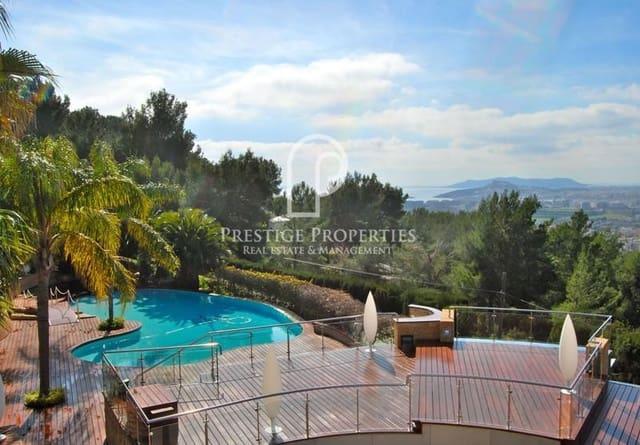 Chalet de 11 habitaciones en Cap Martinet en venta con piscina - 10.500.000 € (Ref: 5363965)