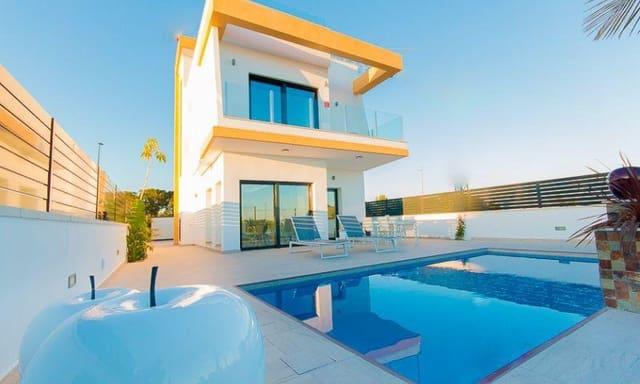 3 sypialnia Willa na sprzedaż w Pilar de la Horadada z basenem - 330 000 € (Ref: 6152355)