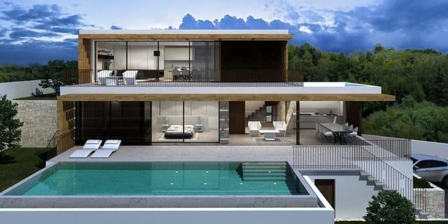 4 sypialnia Willa na sprzedaż w Benissa z basenem garażem - 1 550 000 € (Ref: 6233165)