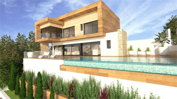 3 quarto Moradia para venda em La Herradura com piscina garagem - 695 000 € (Ref: 6011473)