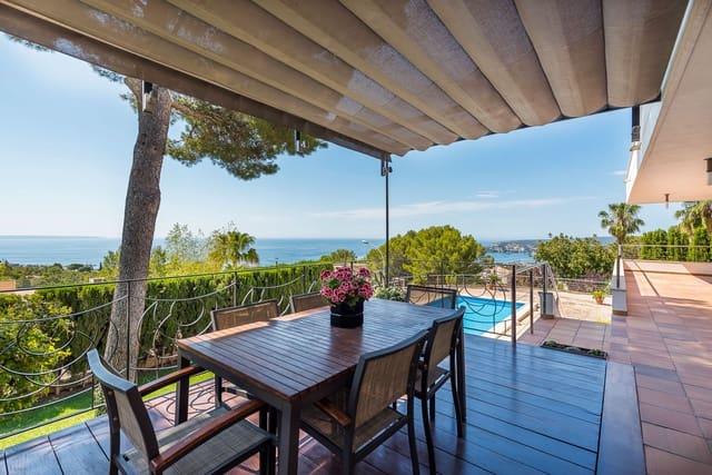 Pareado de 5 habitaciones en Costa d'en Blanes en venta con piscina garaje - 2.950.000 € (Ref: 5562619)