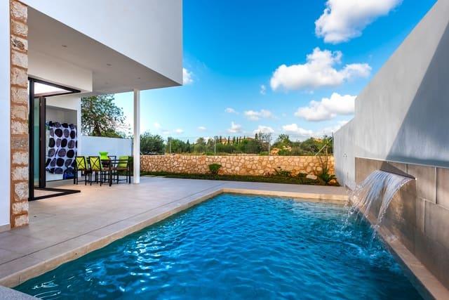 4 Zimmer Doppelhaus zu verkaufen in Santanyi mit Pool Garage - 450.000 € (Ref: 5562902)
