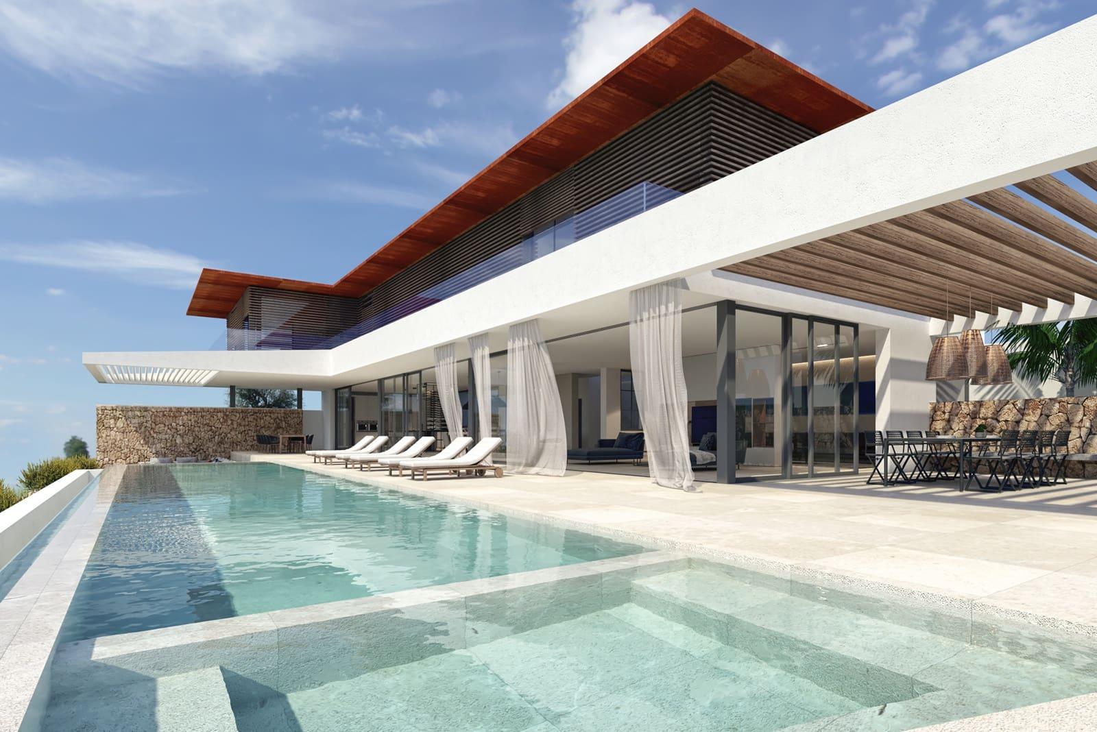 Byggetomt til salgs i Cala Vinyes / Cala Vinyas / Cala Vinas - € 4 600 000 (Ref: 5681422)