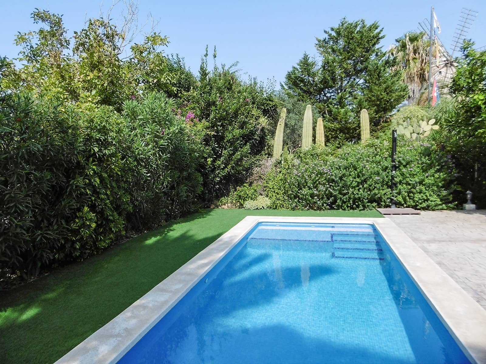 3 soveværelse Byhus til leje i Sineu med swimmingpool garage - € 2.500 (Ref: 5681504)