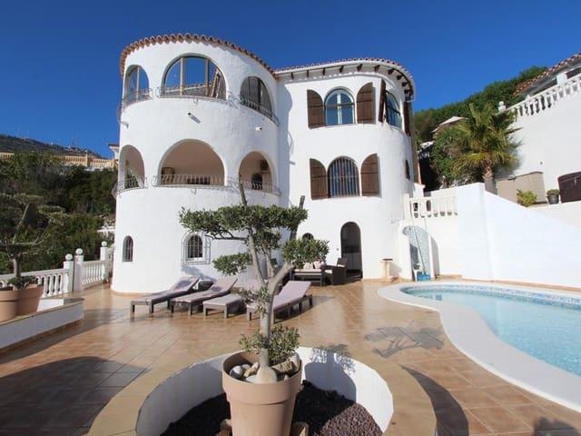6 soverom Villa til leie i Cumbre del Sol med svømmebasseng - € 2 800 (Ref: 6053255)