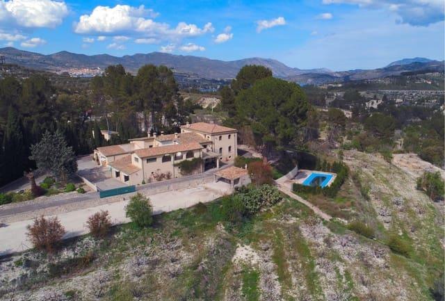 Finca/Casa Rural de 7 habitaciones en Planes en venta con piscina garaje - 1.250.000 € (Ref: 5780790)