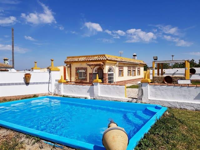 2 makuuhuone Huvila myytävänä paikassa Chiclana de la Frontera mukana uima-altaan  autotalli - 149 950 € (Ref: 6027370)