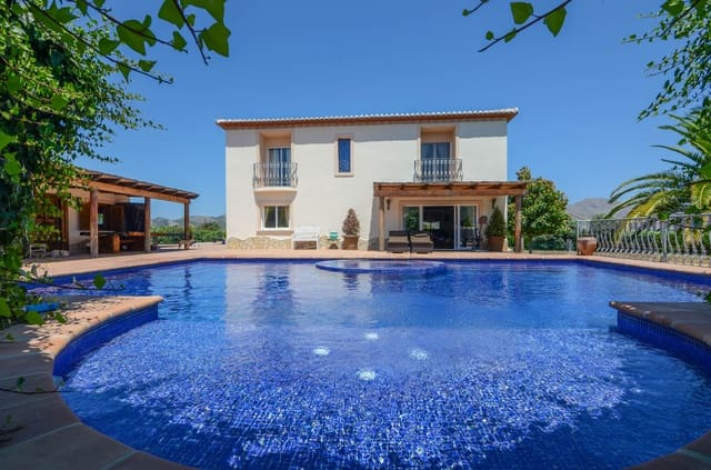 6 chambre Finca/Maison de Campagne à vendre à Benidoleig avec piscine - 780 000 € (Ref: 4832017)