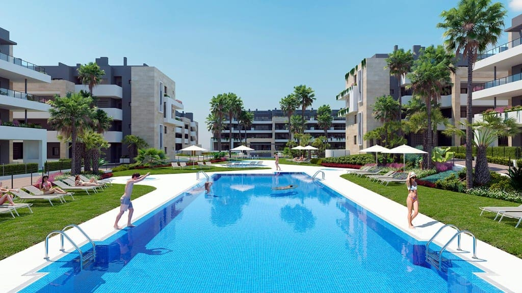 Apartamento de 3 habitaciones en Playa Flamenca en venta con garaje - 265.000 € (Ref: 4804592)