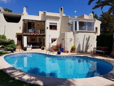 4 bedroom Villa for sale in Adsubia with pool garage - € 455,000 (Ref: 5475736)