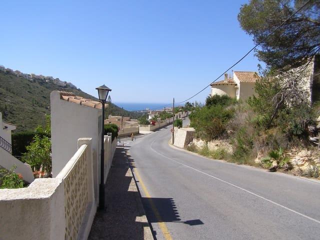 Byggegrund til salg i Benitachell / Benitatxell - € 140.000 (Ref: 5507706)