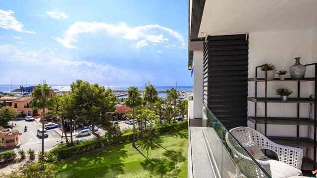 1 sovrum Lägenhet till salu i Puerto Portals med pool - 450 000 € (Ref: 5220194)