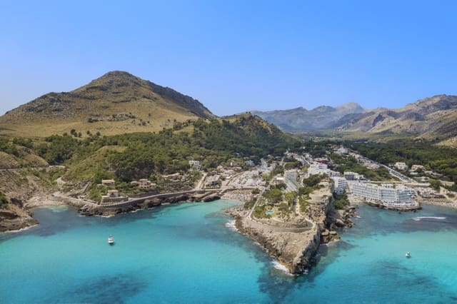 Building Plot for sale in Cala San Vicente / Cala Sant Vicenc - € 430,000 (Ref: 5220227)