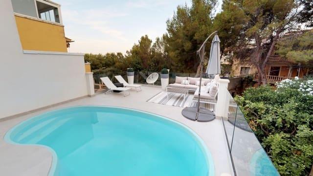Pareado de 4 habitaciones en Costa d'en Blanes en venta con piscina garaje - 690.000 € (Ref: 5220345)