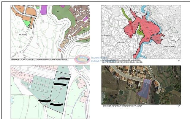 Rakentamaton maa myytävänä paikassa Algarrobo - 155 000 € (Ref: 4454218)