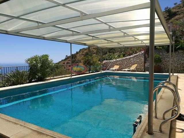 4 chambre Finca/Maison de Campagne à vendre à Competa avec piscine - 650 000 € (Ref: 4961247)