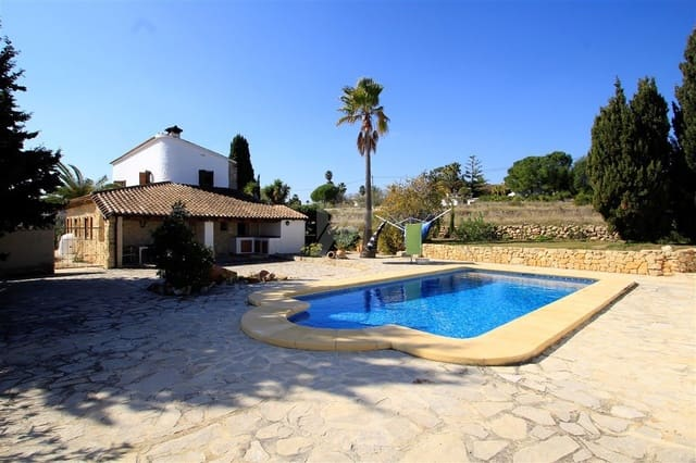 2 bedroom Finca/Country House for sale in Benitachell / Benitatxell with pool garage - € 485,000 (Ref: 4358650)