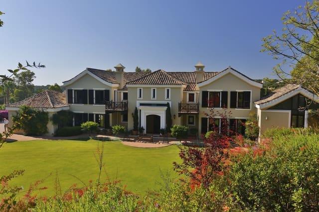 7 bedroom Villa for sale in Sotogrande with pool - € 2,350,000 (Ref: 4927052)