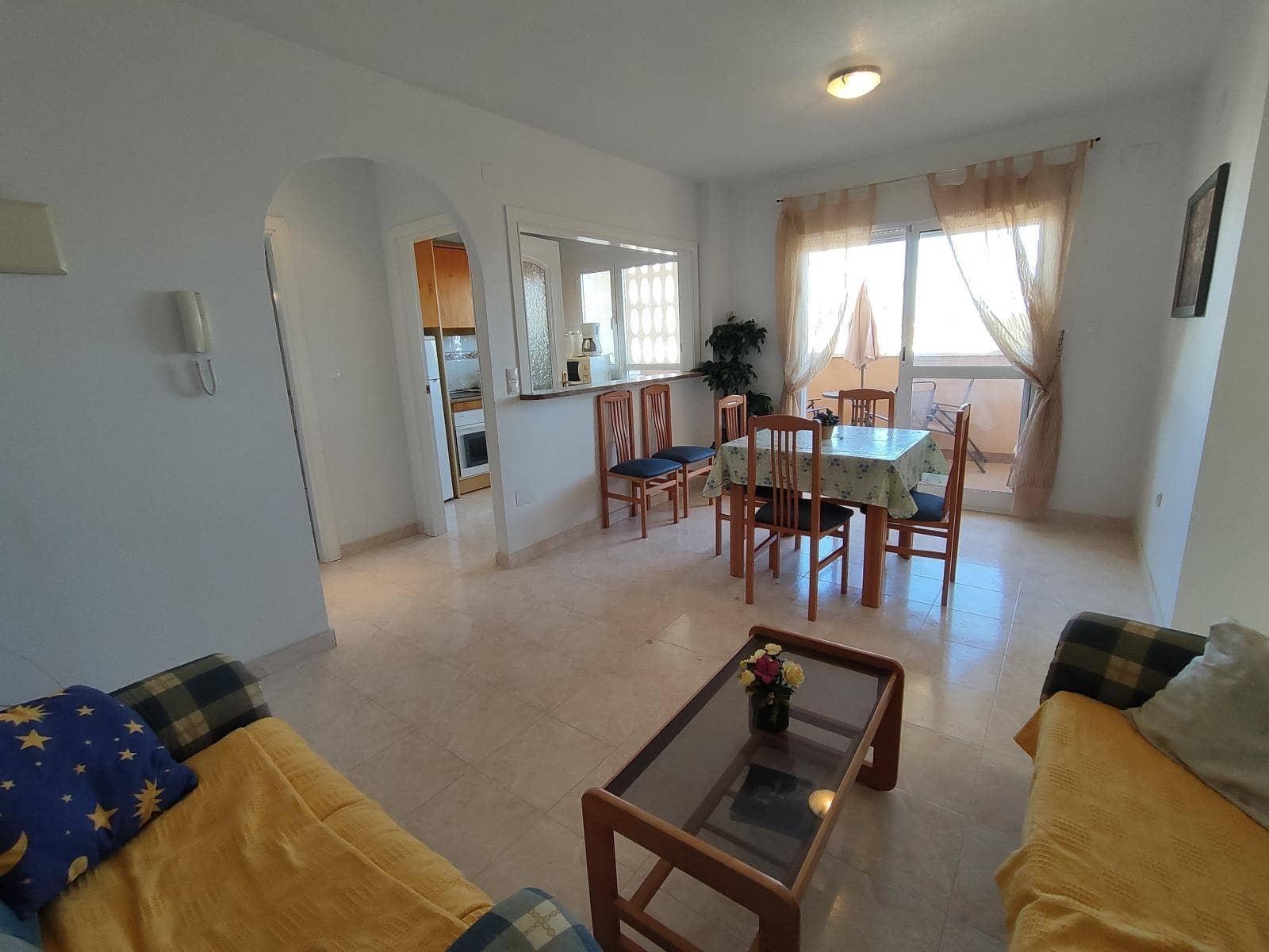 3 soveværelse Strandlejlighed til salg i Orihuela med swimmingpool - € 105.000 (Ref: 2438061)